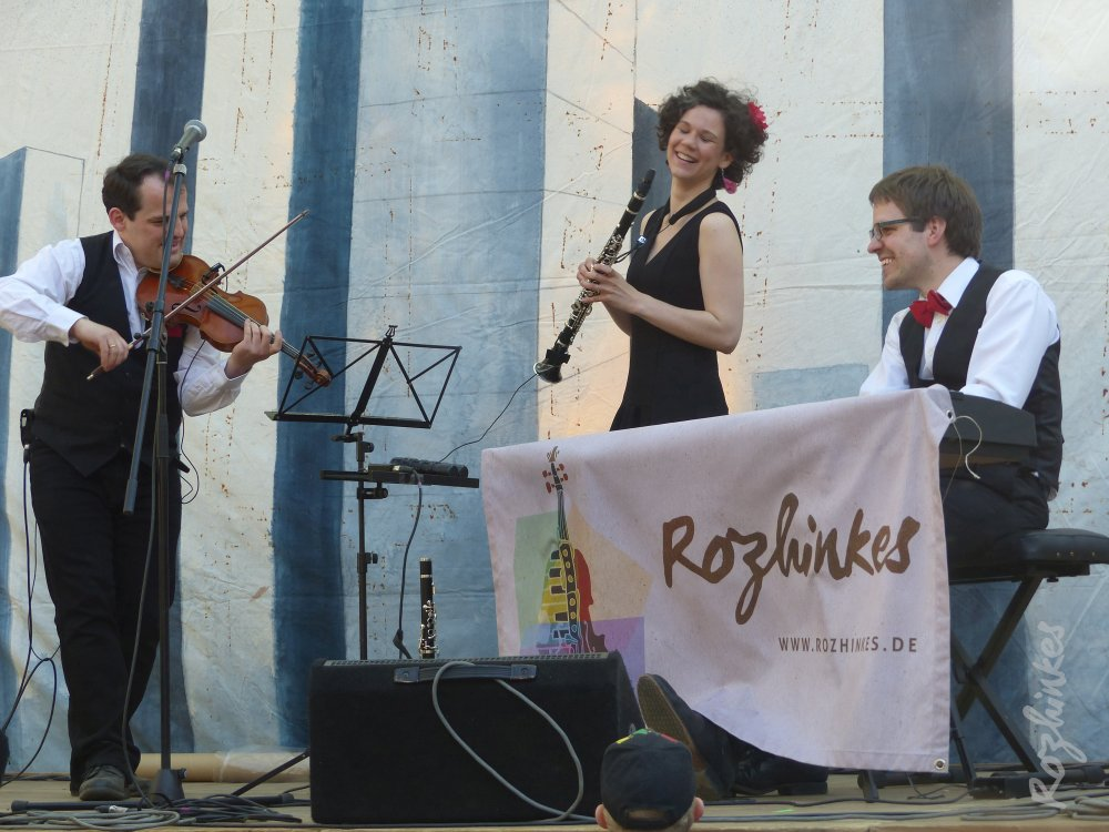 Rozhinkes beim Connewitzer Straßenfest 2015