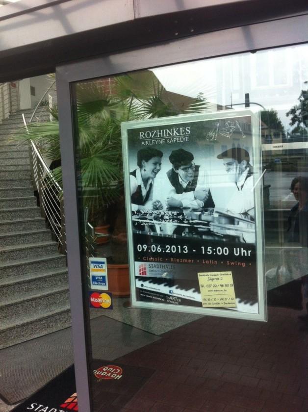 Konzert – Stadthalle – Limbach-Oberfrohna