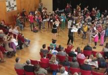 Klezmer-Workshop im Rahmen des Streichertages