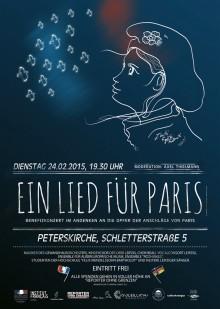 Ein Lied für Paris (Plakat)
