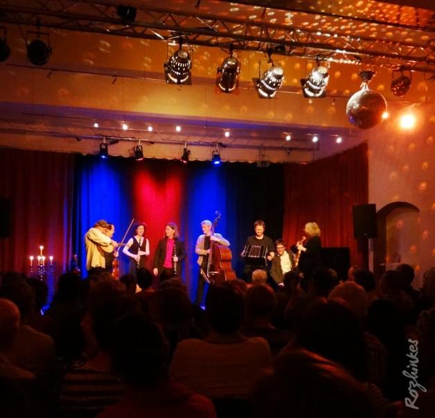Rozhinkes und Aufwind bei der KlezmerNacht in Magdeburg